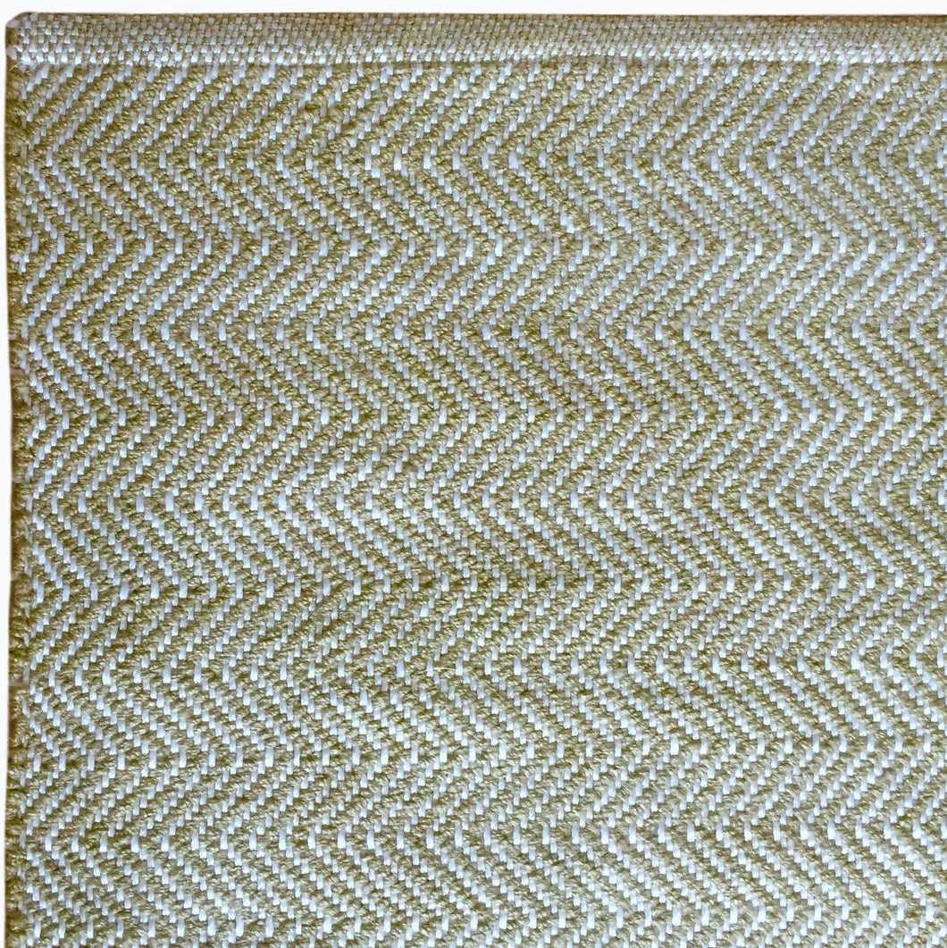 Herringbone Rug in Lichen - James & May