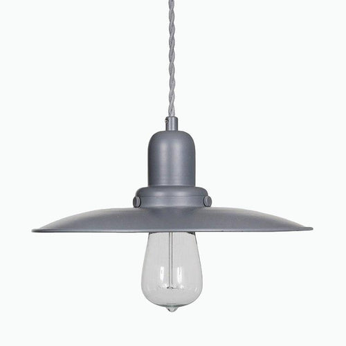 Hobury Pendant Light in Charcoal - James & May