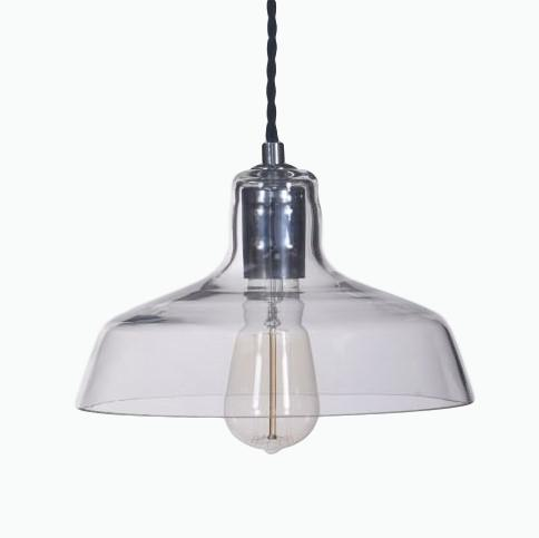 Hoxton Glass Pendant Light - James & May
