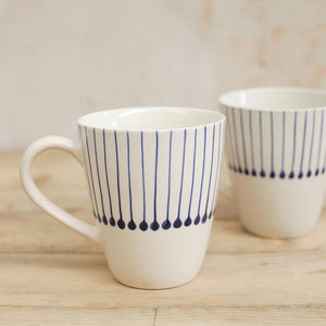 Iba Tall Mugs - James & May