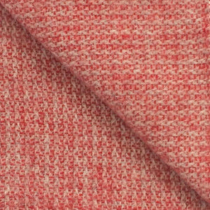 Illusion Wool Blanket in Crimson and Silver - James & May