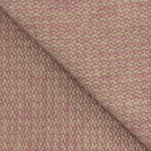 Illusion Wool Blanket in Raspberry and Sage - James & May