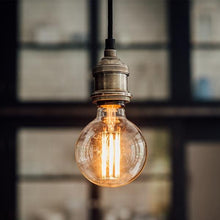 Load image into Gallery viewer, Large Globe Long Filament LED Bulb - James & May