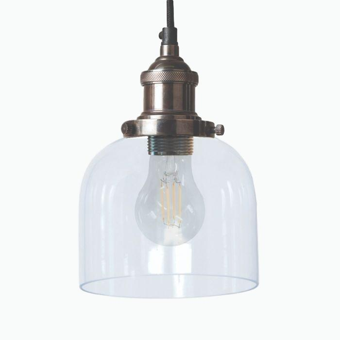 Maine Pendant Light in Aged Nickel - James & May