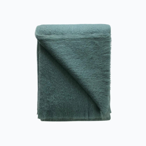Mohair Throw in Juniper - James & May