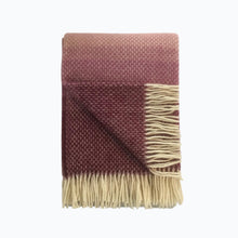 Load image into Gallery viewer, Ombre Wool Blanket in Heather - James & May