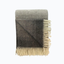 Load image into Gallery viewer, Ombre Wool Blanket in Pebble - James & May