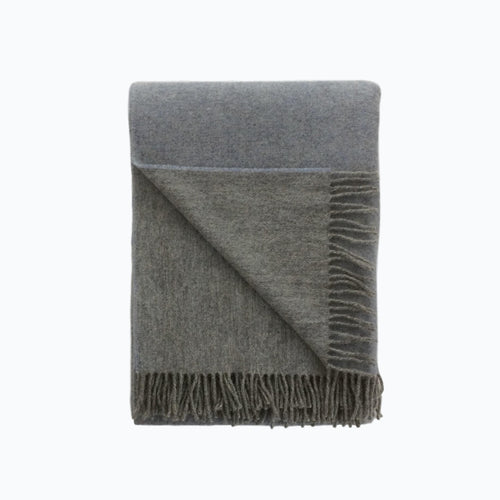 Reversible Wool Blanket in Starlight - James & May