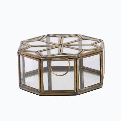Small Bequai star pot with mirrored base - James & May