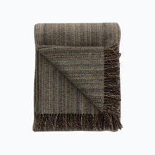 Load image into Gallery viewer, Tweed Wool Blanket in Grey - James & May