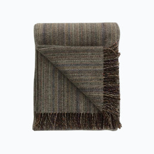 Tweed Wool Blanket in Grey - James & May