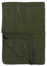 Load image into Gallery viewer, Velvet Quilt in Moss - James & May