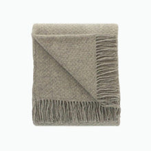 Load image into Gallery viewer, Wafer Wool Blanket in Silver - James & May