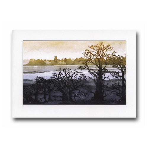 Winter Trees, Iken Greeting Card - James & May