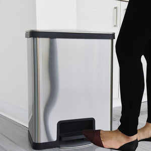 13 Gallon Stainless Steel Step  with AirStep Technology
