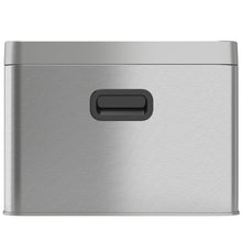Load image into Gallery viewer, 5 Gallon Stainless Steel Recycle Bin / Trash Can