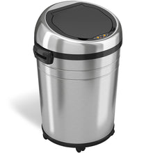 Load image into Gallery viewer, 18 Gallon Stainless Steel Extra Large Round Sensor