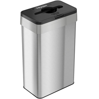21 Gallon Stainless Steel Rectangular Open Top (Trash)