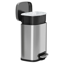 Load image into Gallery viewer, 1.5 Gallon Stainless Steel Soft Step with Plastic Liner