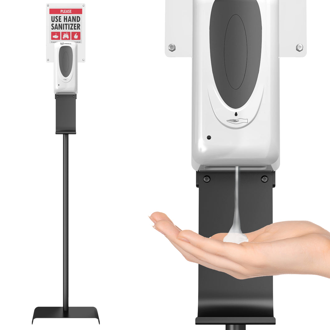 Sensor Sanitizer Dispenser with Floor Stand
