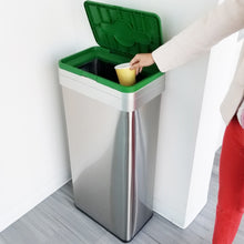 Load image into Gallery viewer, Compost Lid Attachment for 16, 18, 21 Gallon Rectangular Open Top Bin