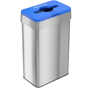 Recycle Lid Attachment for 16, 18, 21 Gallon Rectangular Open Top Bin