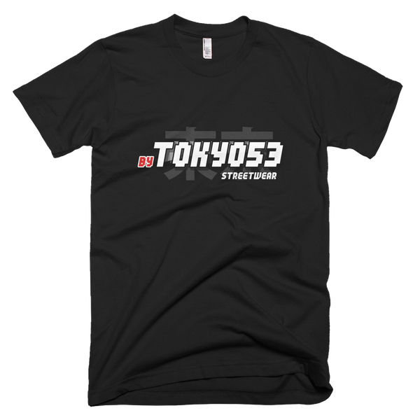 'By Tokyo53' Streetwear Short-Sleeve Unisex T-Shirt - Catswag