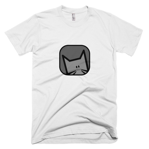 'Shinobu' B/W Short-Sleeve T-Shirt - Catswag