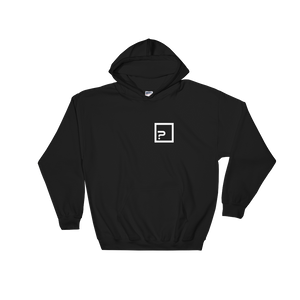 Revolution 2 B/W Hooded Sweatshirt - Catswag