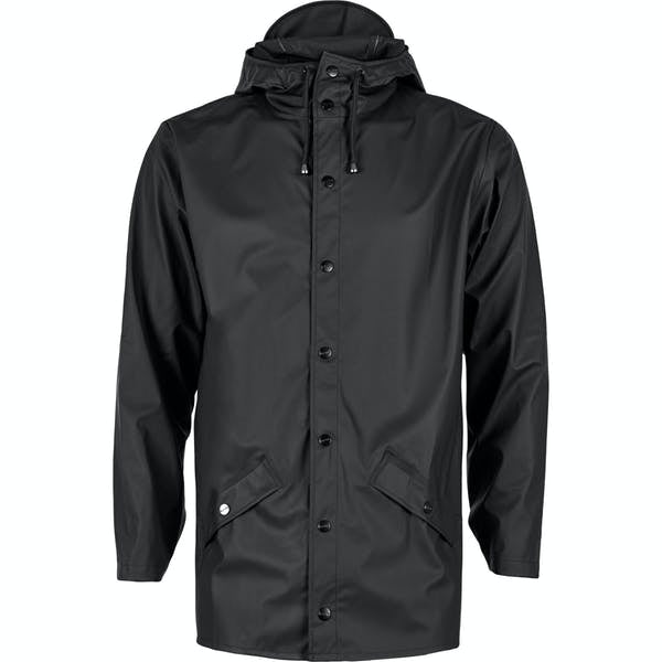 Rain Jacket - Black- RAINS