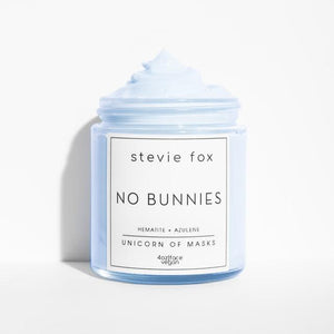 No Bunnies Face Mask