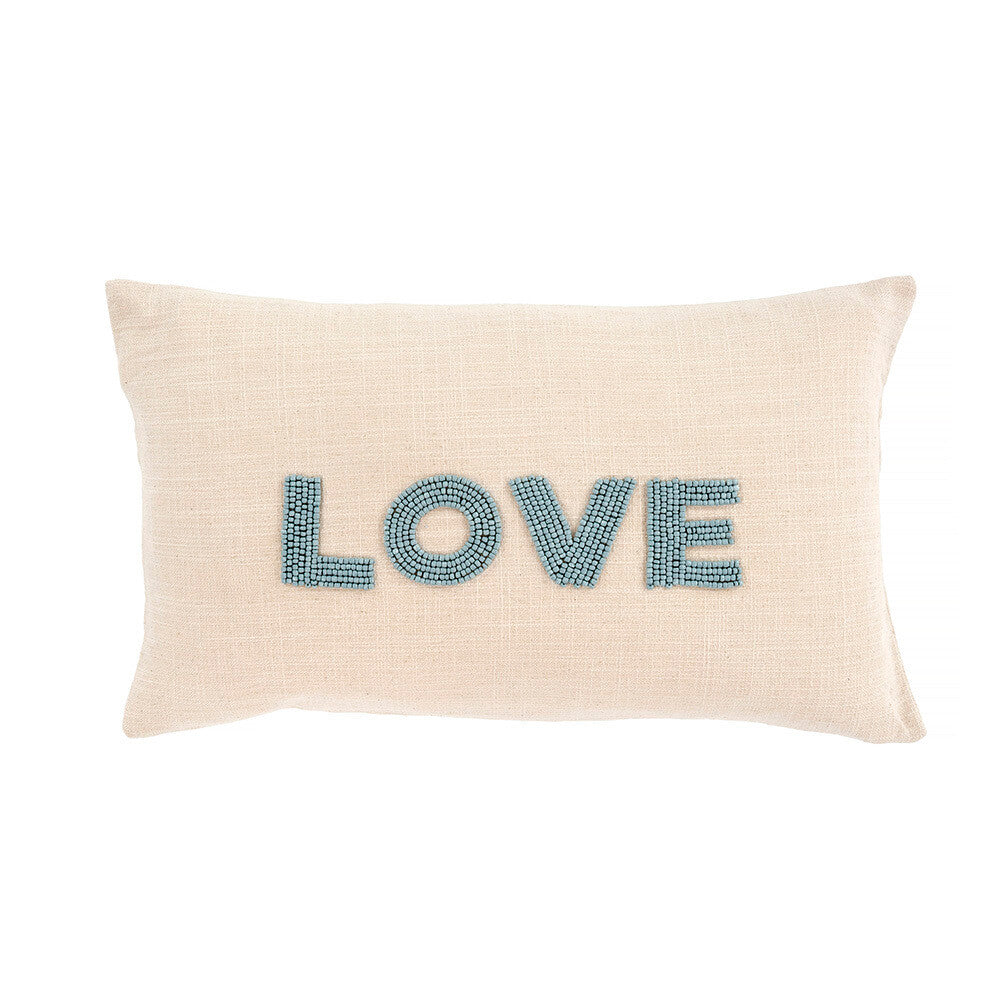 Load image into Gallery viewer, Blue Love Pillow - INDABA