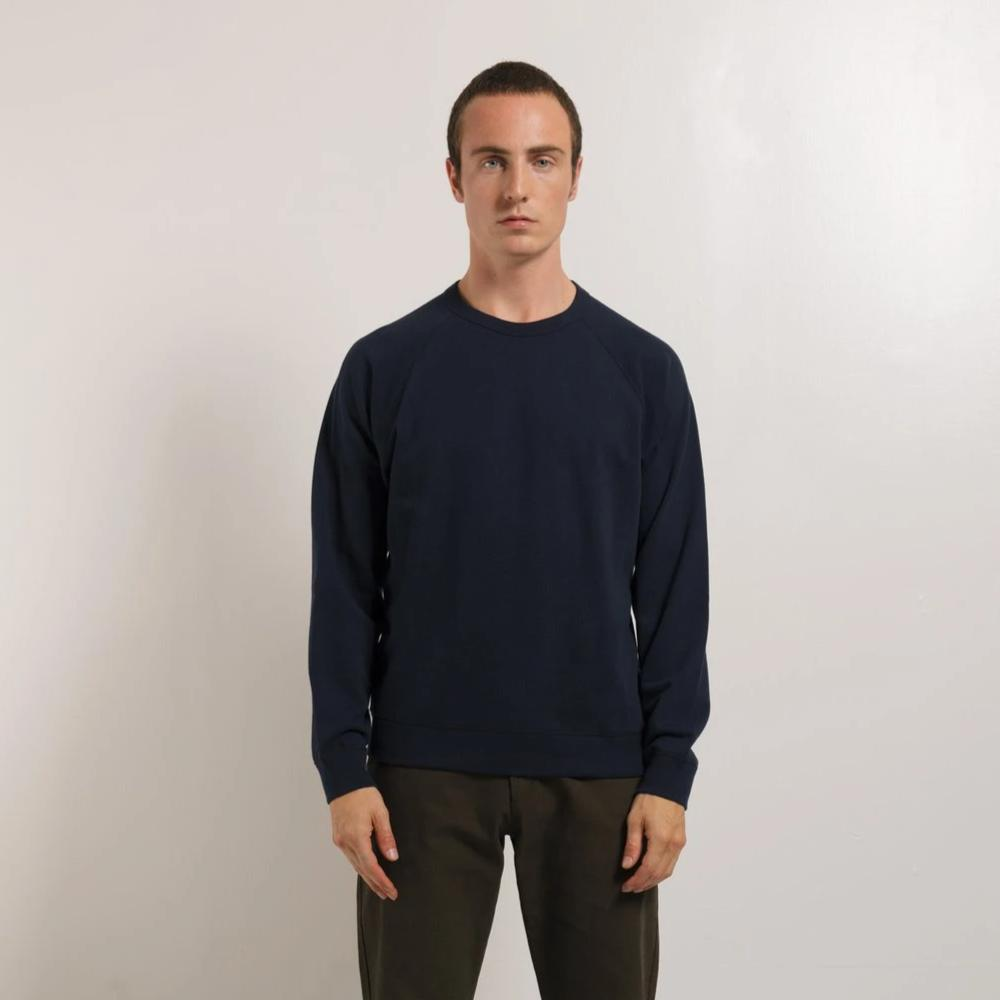 French Terry Long Sleeve Crew - NATIONAL STANDARDS