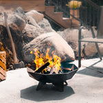 2' Polygon Fire Bowl