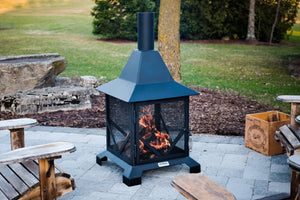 4' Chiminea Outdoor Fireplace