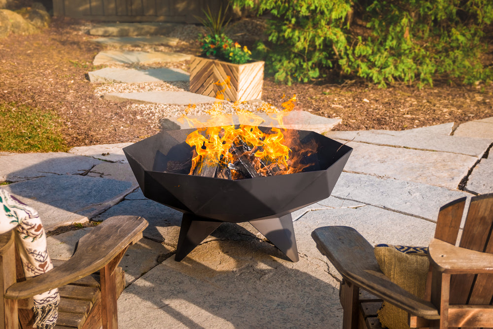 4' Polygon Fire Bowl