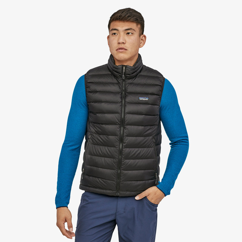 Down Sweater Vest (Black) - Patagonia