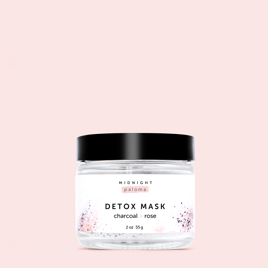 Midnight Paloma Charcoal Rose Detox Mask