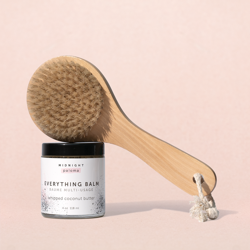 Load image into Gallery viewer, BUNDLE : Body Brush + Everything Balm - MIDNIGHT PALOMA