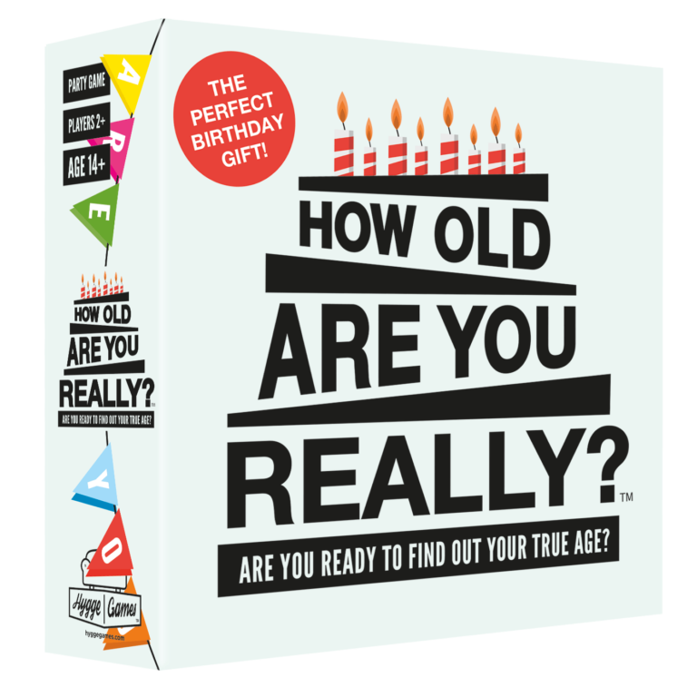 How Old Are You Really? - HYGGE GAMES