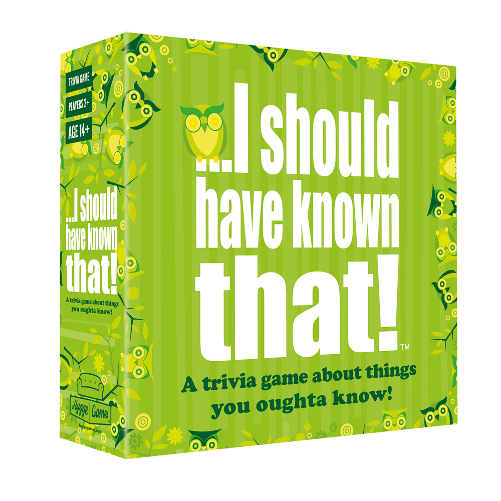 I Should Have Known That! - HYGGE GAMES