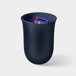 Oblio Charging Station and Sanitizer (dark blue) LEXON