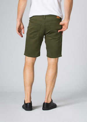 No Sweat Short (Army Green) - DUER