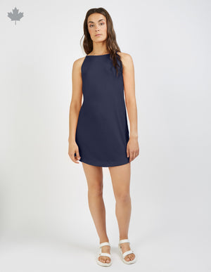 Load image into Gallery viewer, Rea Dress (sail) - FIG