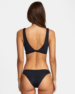 Load image into Gallery viewer, Solid Bralette Bikini Top - Black - RVCA