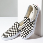 Classic Slip-On Black&White Checker
