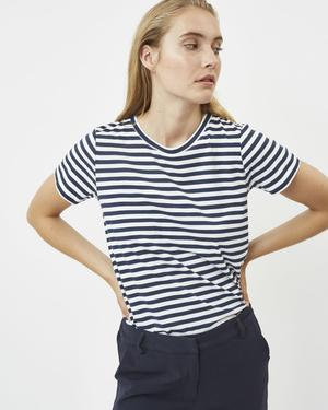 Load image into Gallery viewer, Gabriella Tee (Navy) - Minimum