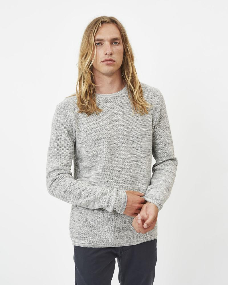 Reiswood Sweater (Light Grey Melange) - Minimum