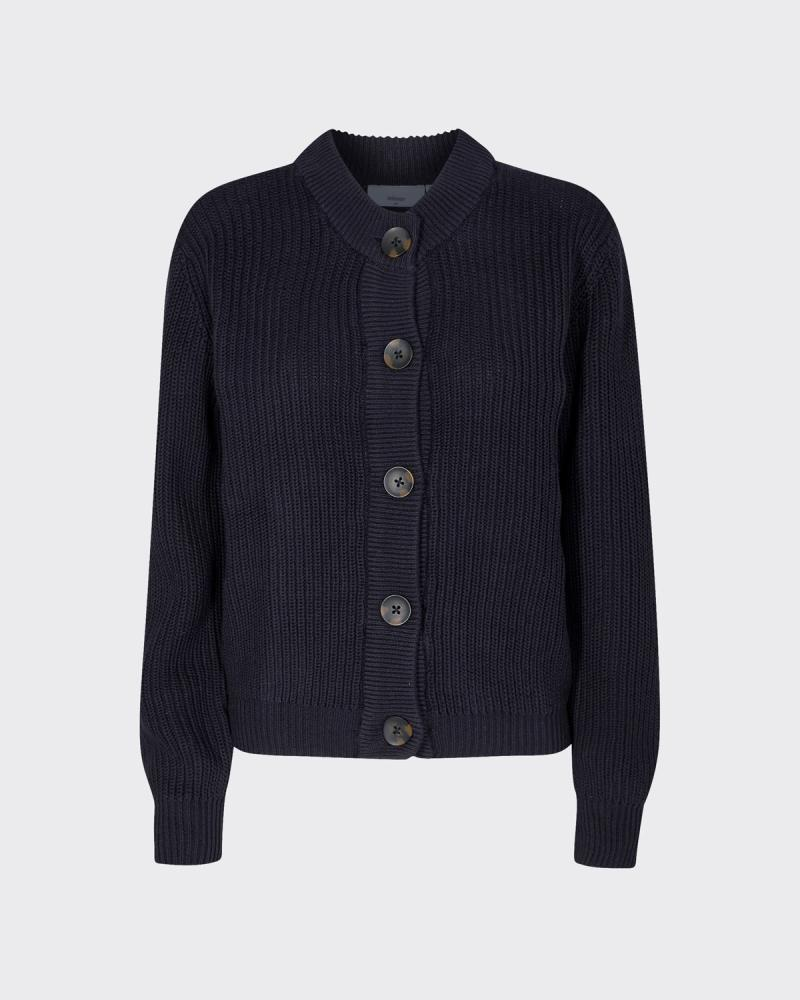 Load image into Gallery viewer, Affie Cardigan (Black) - Minimum
