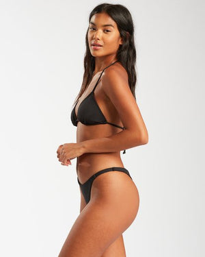 Sol Searcher Triangle Bikini Top (black) - BILLABONG